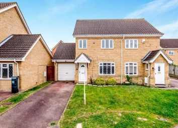 Thumbnail 3 bed semi-detached house for sale in Pinsent Avenue, Bromham, Bedford, Bedfordshire
