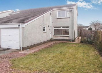Thumbnail 2 bed semi-detached house for sale in Henderson Court, East Calder, Livingston