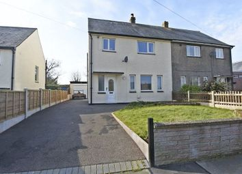 Thumbnail 3 bed semi-detached house for sale in Waver Road, Anthorn, Wigton