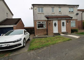 Thumbnail 2 bed semi-detached house for sale in Broomhill Crescent, Bonhill, Alexandria, West Dunbartonshire