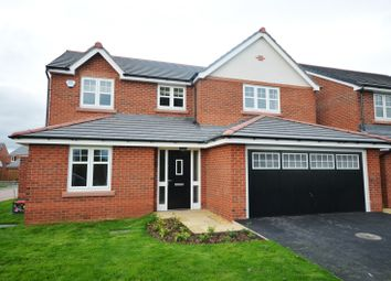 Thumbnail 4 bed detached house to rent in Garrison Close, Saighton, Chester