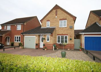 Thumbnail 3 bed detached house for sale in Snowdrop Drive, Attleborough