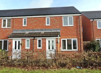 Thumbnail 3 bed town house to rent in Baswich House Way, Stafford