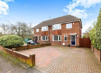 Thumbnail 3 bedroom semi-detached house for sale in Ridgeway, Brogborough, Bedford, Bedfordshire