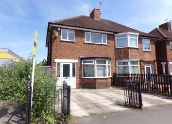 Thumbnail 3 bed semi-detached house for sale in Abbey Park Road, Leicester, Leicestershire, England