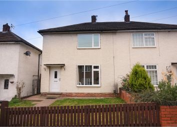 Thumbnail 2 bed semi-detached house for sale in Burlington Road, Derby