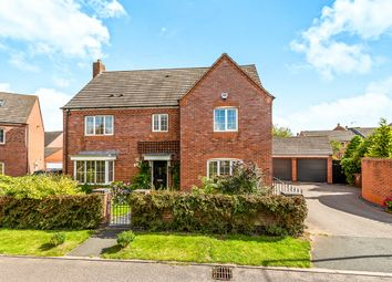Thumbnail 5 bed detached house for sale in Newbold Close, Lichfield