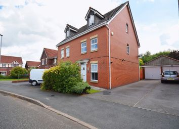 Thumbnail 3 bed semi-detached house for sale in Sapphire Drive, Milton, Stoke-On-Trent