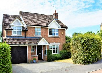 Thumbnail 4 bed detached house for sale in Curtis Close, Camberley, Surrey