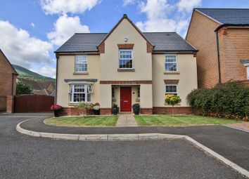 Thumbnail 4 bed detached house for sale in James Jones Close, Llanfoist, Abergavenny