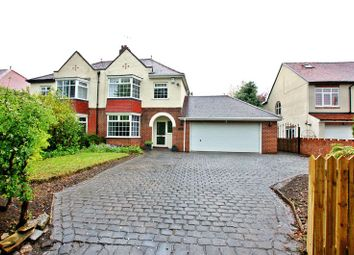 Thumbnail 3 bed semi-detached house for sale in The Beeches, Ponteland, Newcastle Upon Tyne