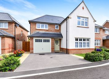 Thumbnail 4 bedroom detached house for sale in Rossiter Close, Bathpool, Taunton