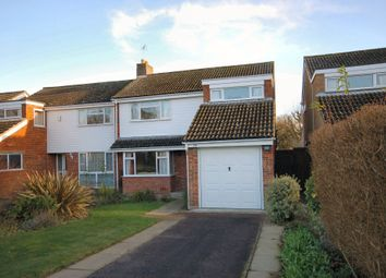 Thumbnail 3 bedroom semi-detached house to rent in The Paddock, Harston, Cambridge