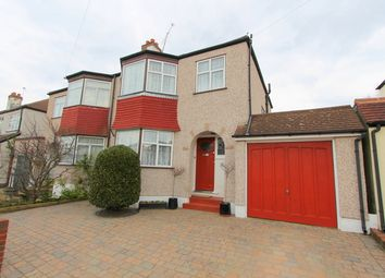Thumbnail 3 bed semi-detached house for sale in Raleigh Avenue, Wallington