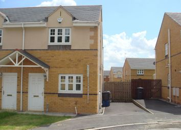 Thumbnail 2 bed semi-detached house to rent in Brindle Close, Allerton, Bradford, West Yorkshire