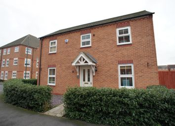 Thumbnail 3 bed detached house to rent in Thames Way, Hilton, Derby