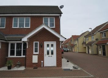 Thumbnail 3 bed end terrace house for sale in Yorktown Close, Harwich