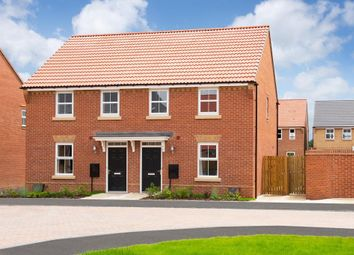 "Thumbnail 3 bedroom semi-detached house for sale in ""Washford"" at Bridlington Road, Stamford Bridge, York"