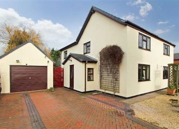 Thumbnail 4 bed detached house for sale in School Lane, St. Martins, Oswestry