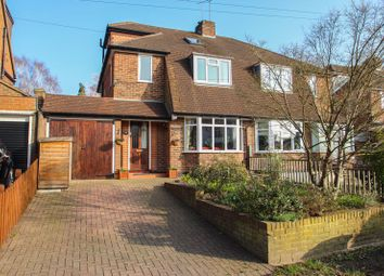 Thumbnail 4 bed semi-detached house for sale in Common Road, Claygate, Esher