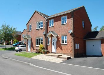 Thumbnail 2 bed semi-detached house to rent in Rockfel Road, Lambourn, Hungerford