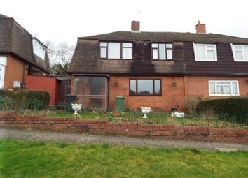 Thumbnail 4 bed semi-detached house for sale in Foxlydiate Crescent, Redditch, Worcestershire
