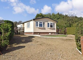 Thumbnail 2 bed mobile/park home for sale in Dodnor Lane, Newport, Isle Of Wight