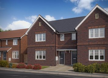 "Thumbnail 3 bedroom semi-detached house for sale in ""The Hatfield"" at Forge Wood, Crawley"