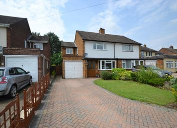 Thumbnail 3 bed semi-detached house for sale in Milton Drive, Shepperton