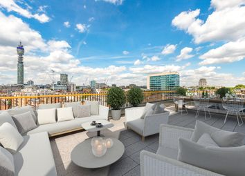 Thumbnail 4 bed flat for sale in Rathbone Square, W1, London