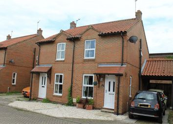 Thumbnail 2 bed semi-detached house to rent in Southfield Park, Market Weighton, York