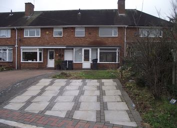 Thumbnail 3 bed terraced house to rent in Turnley Road, Shard End, Birmingham