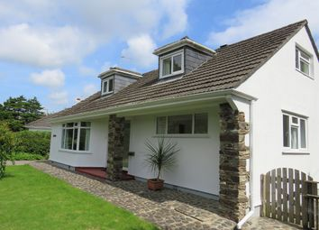 Thumbnail 3 bed detached bungalow for sale in Rosevale, Alexandra Road, Penzance, Cornwall.