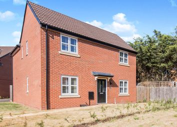 Thumbnail 4 bed detached house for sale in Meteor Way, Whetstone, Leicester