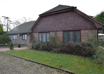 Thumbnail 3 bedroom detached bungalow for sale in Saucelands Lane, Shipley, Horsham, West Sussex