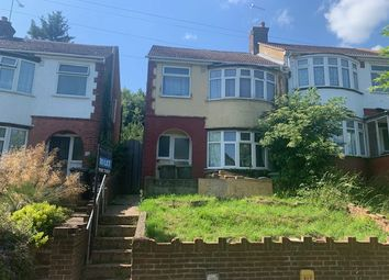 Thumbnail 3 bed semi-detached house to rent in Bramingham Road, Luton