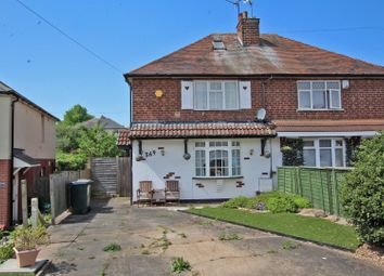 Thumbnail 2 bed semi-detached house for sale in Cavendish Road, Carlton, Nottingham