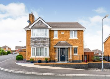 Thumbnail 4 bed detached house for sale in Murrel Close, Culverhouse Cross, Cardiff
