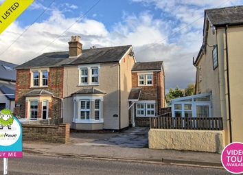 Thumbnail 3 bed semi-detached house for sale in Thorley Street, Thorley, Bishop's Stortford