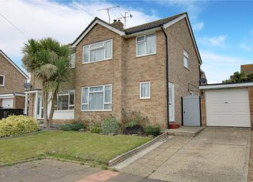 3 bed semi-detached house for sale in Medway Close, Worthing, West Sussex BN13