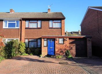 Thumbnail 3 bed semi-detached house for sale in Aylesham Way, Yateley