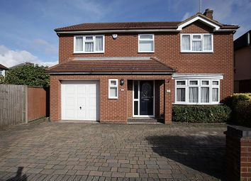 Thumbnail 4 bedroom detached house for sale in Walcot Avenue, Luton