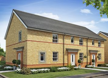 "Thumbnail 3 bed semi-detached house for sale in ""Folkestone"" at Briggington, Leighton Buzzard"
