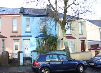 Thumbnail 2 bed terraced house for sale in Coombe Park Lane, Plymouth