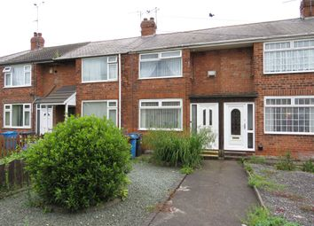 Thumbnail 3 bed terraced house for sale in Hotham Drive, Hull