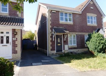 Thumbnail 2 bedroom semi-detached house for sale in Ireland Close, St. Mellons, Cardiff