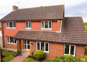 Thumbnail 4 bed detached house for sale in Barleymow Close, Chatham