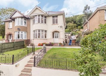 Thumbnail 4 bed semi-detached house for sale in Leigh Road, Trevethin, Pontypool