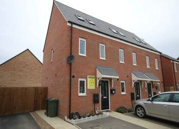 Thumbnail 3 bed semi-detached house to rent in Bedstone Way, Farcet, Peterborough