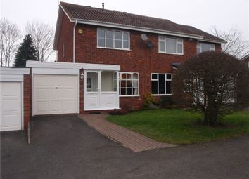Thumbnail 2 bedroom semi-detached house to rent in Gateley Close, Redditch
